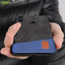 For <b>Xiaomi mi8</b> case cover <b>MOFI mi 8</b> SE Fabric Back Cover Case ...