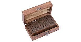 Lost Ocean <b>70pcs</b>/<b>Set</b> Wooden Box Multipurpose Number Alphabet ...