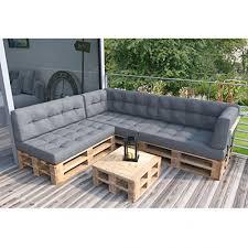 Animalmarketonline <b>Pallet</b> Cushion <b>Garden</b> Furniture Set Complete ...