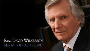 """Eulogy given by Gary Wilkerson. David served the purposes of God in his generation, then he died"""" (Acts 13:36). On Wednesday afternoon my father, ... - dw-banner"""