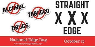 NATIONAL EDGE DAY - October 17 - National Day Calendar