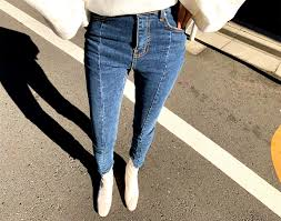 2019 Irregular <b>Summer</b> Jeans <b>Spring Stretch Patchwork</b> Denim ...