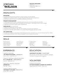 resume graphic design illustration identity and branding experience
