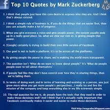 Top 10 Quotes by Mark Zuckerberg | Visual.ly