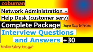 network administration and help desk interview questions and network administration and help desk interview questions and answers all in one