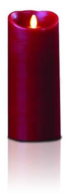 gkibethlehem lighting luminara wax candle 4 by 9 inch burgundy buy gki bethlehem lighting