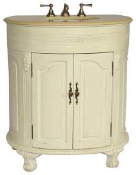 traditional style antique white bathroom: quot antique white versailles bathroom sink vanity cabinet traditional bathroom vanities and