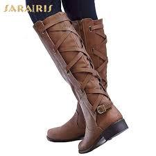 <b>SARAIRIS Brand New</b> Plus Size <b>34 43</b> Womens Shoelaces Strappy ...