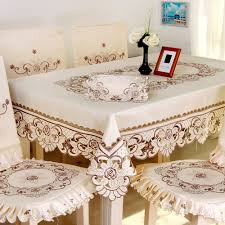 dining table free shipping embroidered rose coffee