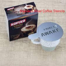 BEEMSK 6pcs/<b>lot</b> Stainless <b>Steel Metal</b> Chocolate <b>DIY</b> Coffee Latte ...