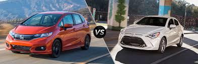 2019 Honda <b>Fit</b> vs 2019 <b>Toyota</b> Yaris