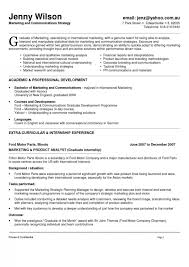 marketing executive resume marketing resume account management marketing executive resume