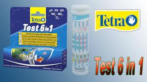 <b>Тест Tetra</b> Test 6 in 1 (Cl2, Ph, KH, GH, NO2, NO3) - YouTube