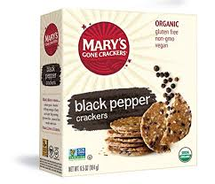 Mary's Gone Crackers Black Pepper Crackers ... - Amazon.com