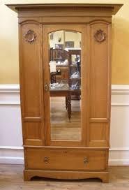 mirroredwardrobearmoire antique english oak victorian mirrored wardrobe armoire from antique english pine armoire