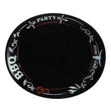 <b>Тарелка для стейка</b> 30x25.5см <b>Luminarc</b> Friends Time Black N2172