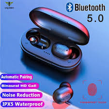 UQ <b>A6X</b> TWS Bluetooth 5.0 Earphones <b>Fingerprint Touch</b> HD Stereo ...