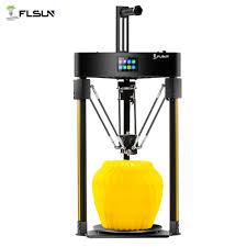 Flsun Q5 3D Printer TMC 2208 silent driver <b>Auto leveling 3D</b> Printer ...