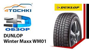 3D-обзор шины <b>Dunlop Winter Maxx WM01</b> на 4 точки. Шины и ...
