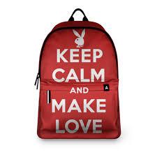 <b>Рюкзак 3D</b> «Keep calm...» (ремейк) #2868855 – <b>рюкзаки</b> с ...