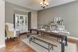 rustic hutch dining room: rustic dining room table and hutch decor rustic dining room design