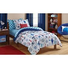 mainstays kids pirate bed in a bag bedding set walmartcom bedroom kids bed set cool