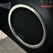 Кольца <b>динамиков</b> в дверях TECH Design Light на Nissan X-Trail ...