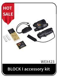 <b>WADSN Airsoft Tactical Flashlight</b> PEQ15 LA5 UHP Appearance ...
