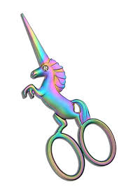 HITOPTY <b>Unicorn</b> Embroidery Scissors, Stainless Steel 4.5 <b>inch Cute</b>
