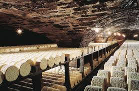 Image result for roquefort cheese caves millau france