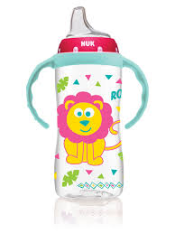 NUK <b>Large Learner Cup</b> 10oz - Pink/Teal | Babies R Us Canada