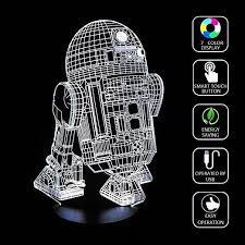 Lucky2Buy Optical Illusion R2-D2 Robot Decor toy <b>Lamp</b> | Gift Ideas ...