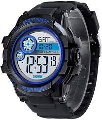 Skmei Sport Watch Countdown Timer Digital Popular ... - Amazon.com