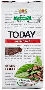 <b>Кофе молотый Today</b> Blend №8 — купить по выгодной цене на ...