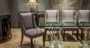 an elegant high end dining table with glass top art deco dining table high