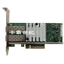 New Intel E10G42BTDA 82599ES <b>PCI E</b> Dual Port 10 <b>Gigabit Fiber</b> ...