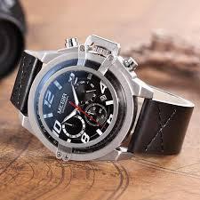 Creative MEGIR <b>Men's Fashion Sport Watches Men</b> Chronograph ...