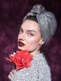 Silver Ladies turban | <b>Повязка для волос</b>, <b>Тюрбан</b> и Повязка на ...