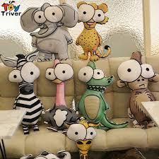Cute Plush Flamingo <b>Giraffe Zebra</b> Lion <b>Elephant</b> Monkey <b>Crocodile</b> ...