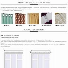 curtain living room modern blackout panel drapes