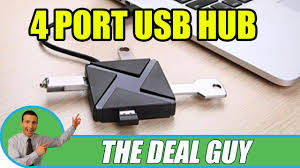 <b>4 Port USB Hub</b> Portable Laptop Accessory review super cheap ...