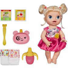 baby alive my baby all gone doll blonde walmart com
