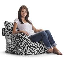 zebra black flaming red zebra beanbags sphere chairs furniture dorm