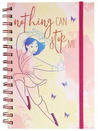 Записная книжка <b>Mulan</b> (<b>Nothing</b> Can Stop Me) A5 Wiro SR73073 ...