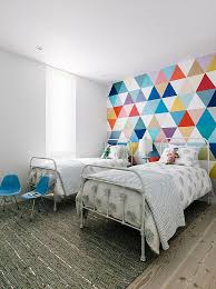 view in gallery fabulous wallpaper adds color and pattern to the cool kids bedroom design shawback bedroom cool bedroom wallpaper baby nursery