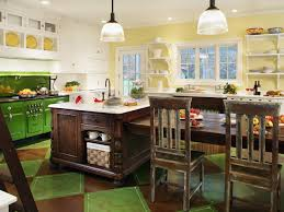 Concrete Floor Kitchen Painting Kitchen Floors Pictures Ideas Tips From Hgtv Hgtv