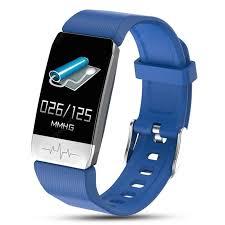 <b>New T1 Smart Watch</b> Body Temperature Measure Blood Pressure ...