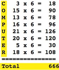 666 calculator에 대한 이미지 검색결과