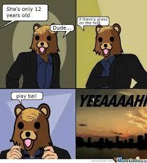 GAGBAY - Csi Pedobear via Relatably.com