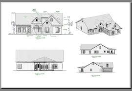 House The Aberdeen House Plan   Green Builder House PlansAll Elevations image of The Aberdeen House Plan